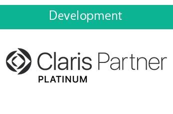 私たちはClaris社に<br>正式に認定されたFBAです。