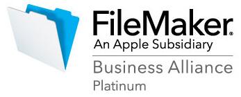私たちはファイルメーカー社に<br>正式に認定されたFBAです。